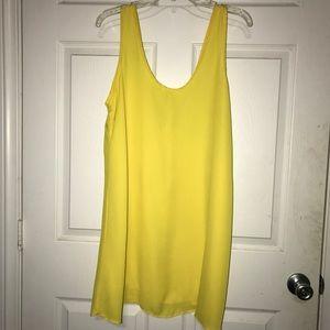 Soprano Yellow Slip Dress ~PB2